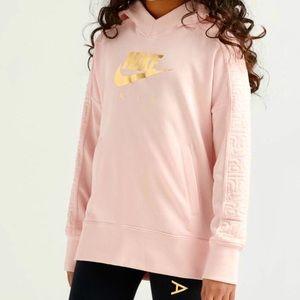 Nike air pullover sweatshirt hoodie pink